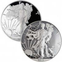 2013-W-Proof-American-Silver-Eagle-West-Point-Mint-75th-Anniversary-2-Coin-Set