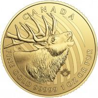 2017-1-oz-canadian-gold-elk-coin-rev