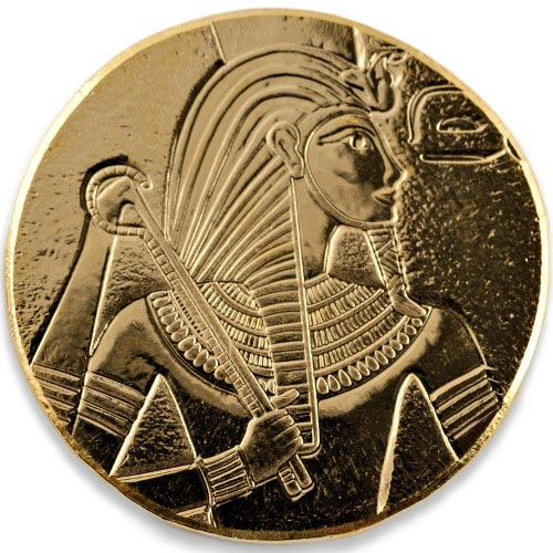 2017 1 Oz Republic Of Chad Series King Tut Gold Coins 166 Jm