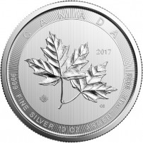 2017-10-oz-canadian-silver-magnificent-maple-leaf-coin-rev