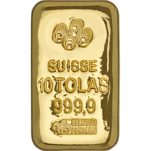 3 75 Oz Credit Suisse 10 Tolas Gold Bar