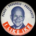 I Like Ike - Siver Dollar - 40 Percent Silver