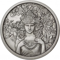 antique-mucha-collection-rose-silver-round-rev