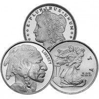 1-4-oz-silver-rounds-varied