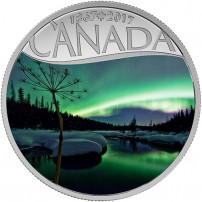2017-1-2-oz-proof-canadian-silver-celebrating-canada-150-series-aurora-borealis-rev