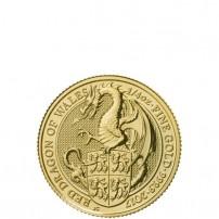 2017-1-4-oz-british-gold-queens-beast-dragon-coin-rev-feat