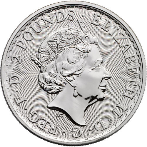 Buy 20th Anniversary Silver British Britannia Coin L Jm