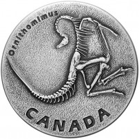 2017-1-oz-antique-canadian-silver-ancient-canada-ornithomimus-rev