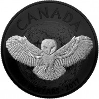 2017-1-oz-proof-canadian-silver-noctural-by-nature-barn-owl-rev