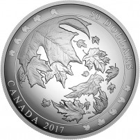2017-5-oz-proof-canadian-silver-maple-leaves-in-motion-rev