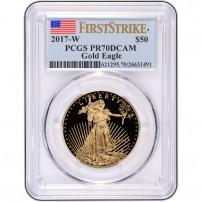 2017-w-1-oz-proof-american-gold-eagle-coin-pcgs-pr70-dcam-fs