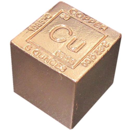 Buy 5 Oz Copper Bullion Cubes 999 5 Lb L Jm Bullion