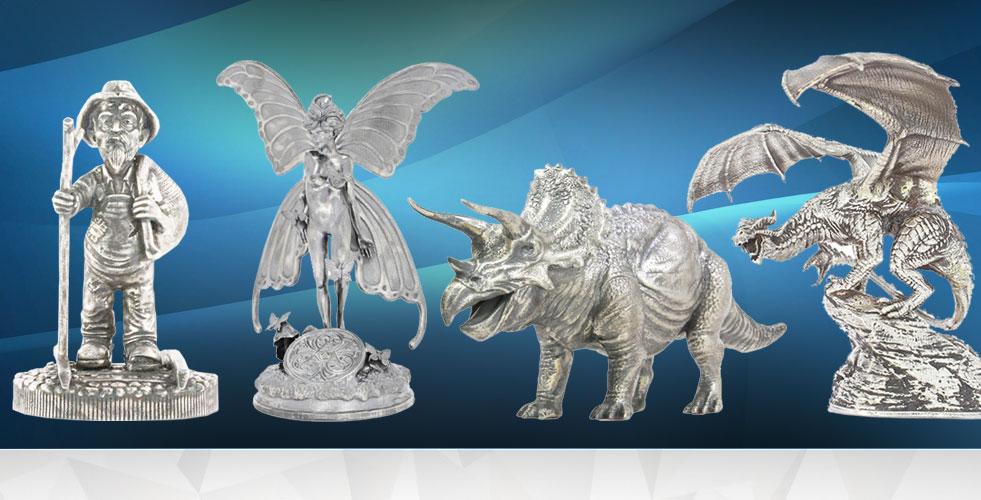 silverstatues