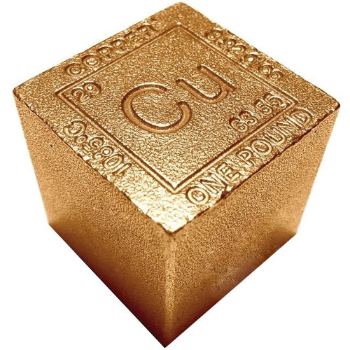 Buy 1 Pound Copper Bullion Cube 999 1 Lb L Jm Bullion