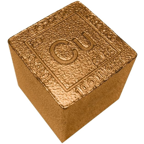 Buy 10 Oz Copper Bullion Cubes 999 10 Oz L Jm Bullion