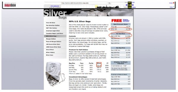2008 Gold & Silver Shortage of Bullion Products - IMAGE 2
