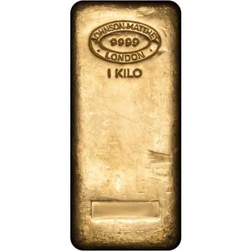 Buy 1 Kilo Johnson Matthey 999 Gold Bars Online Jm Bullion
