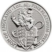2017-1-oz-british-platinum-queen's-beast-lion-coin-rev