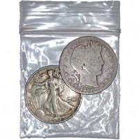 90-Silver-Coins-1$FV-HALVES