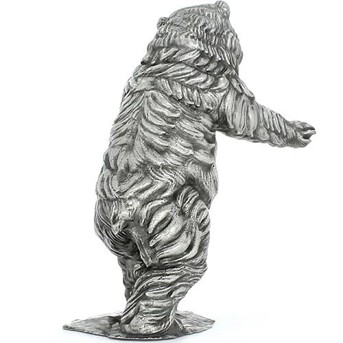 282e559463 Buy 12 oz Antique Finish Ozzy the Bear Silver Statues | JM Bullion™