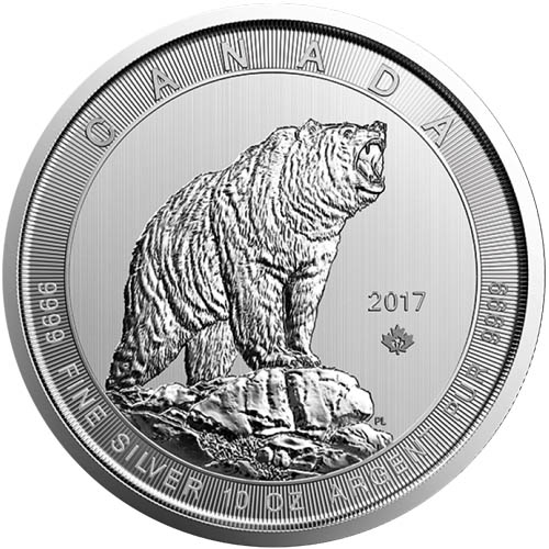2017 10 Oz Canadian Silver Maple Leafs Jm Bullion