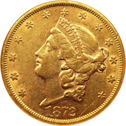 San Francisco Sales Tax 2017 >> 1872 Liberty Head $20 Gold Coin Value | JM Bullion™