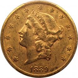 1889 Liberty Head 20 Gold Coin Value Jm Bullion