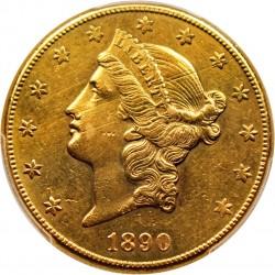 San Francisco Sales Tax 2017 >> 1890 Liberty Head $20 Gold Coin Value   JM Bullion™