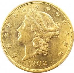 1902 Liberty Head 20 Gold Coin Value Jm Bullion