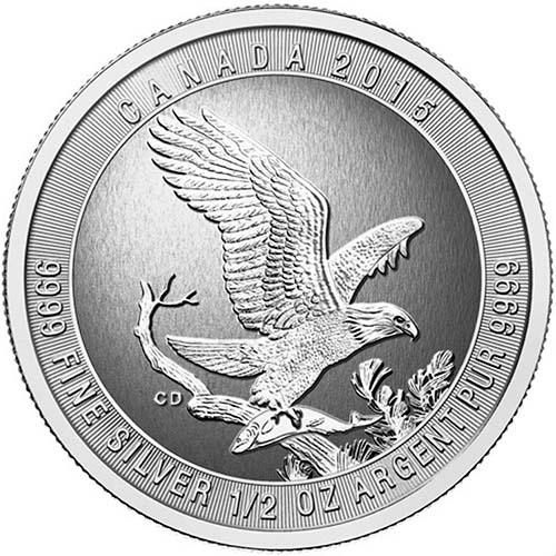 2015 1 2 oz canadian bald eagle silver coin jm bullion Klingon D4 Bird of Prey