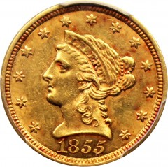 1855 Liberty Head 2 5 Gold Coin Value Jm Bullion