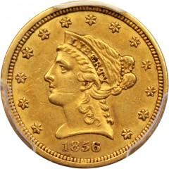 1856 Liberty Head 2 5 Gold Coin Value Jm Bullion