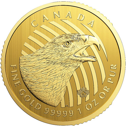 Buy 2018 1 Oz Gold Canadian Golden Eagle Coin Online Jm
