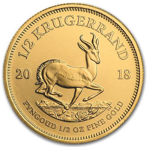krugerrand gold coin value chart: 2018 1 2 oz south african gold krugerrands jm bullion