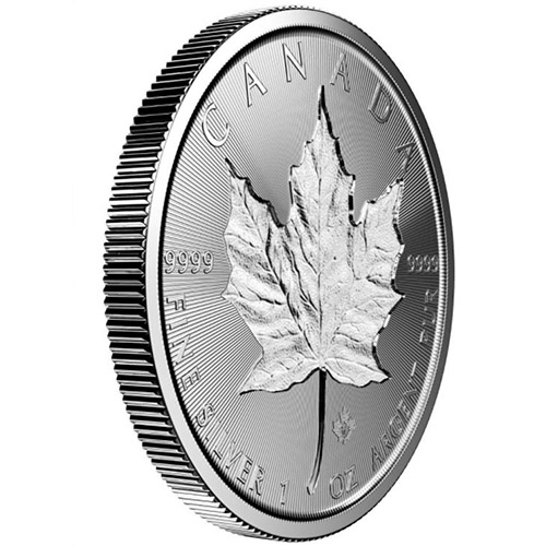 Buy 2018 Canadian Silver Incuse Maple Leafs Online Jm