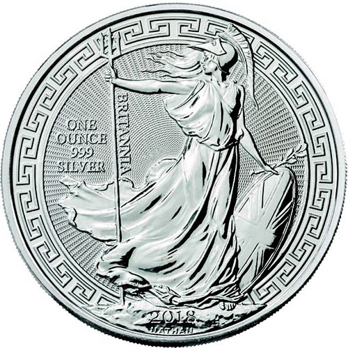 Buy 2018 Silver Oriental Border Britannias Online 1 Oz 999 L Jm Bullion
