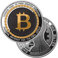 Buy bitcoin silver coins rounds free shipping jm bullion 1 oz colorized proof bitcoin guardian commemorative silver round ccuart Gallery
