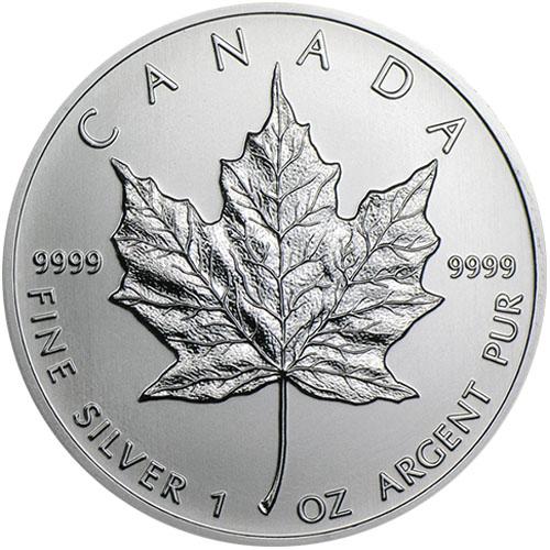 Buy 1999 Canadian Silver Maple Leafs Online Jm Bullion