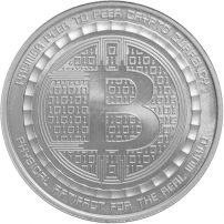 Buy bitcoin silver coins rounds free shipping jm bullion 1 oz bitcoin guardian commemorative silver round new ccuart Gallery