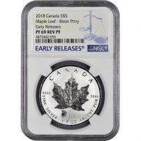Other Canadian Coins 10-2013 Canada 25th Anniversary Silver Maple Coins Leaf $5 Dollar In Flex Pac Coins & Paper Money