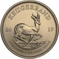 2019 1 Oz South African Gold Krugerrand Coin Bu