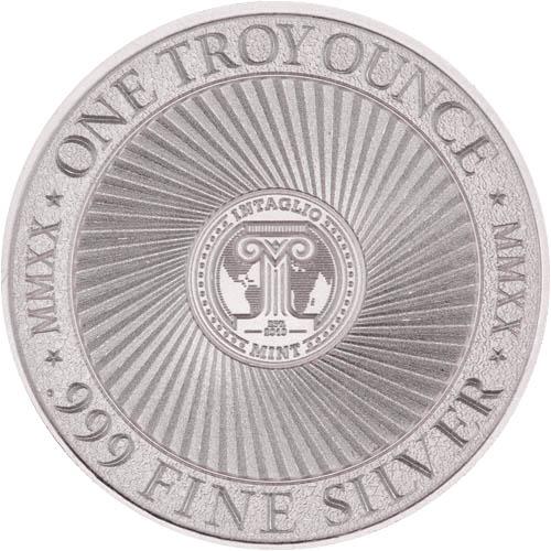 Cryptozoology Collection The Jersey Devil 1 oz Silver USA Made BU Bullion Round