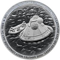 Low Mintage Numbers Apollo 11 Liftoff Silver Coin 1oz .999 Fine Silver