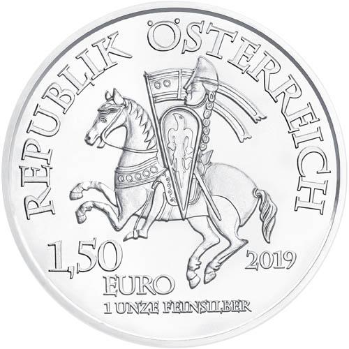 2019 1 oz Austrian Wiener Neustadt Silver Coins l JM Bullion™