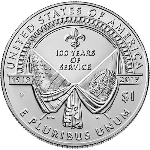 2019 P 1 American Legion 100th Anniversary Silver Coins L Jm Bullion