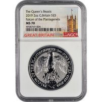 Buy Silver Queen's Beast Coins - Free Shipping | JM Bullion™