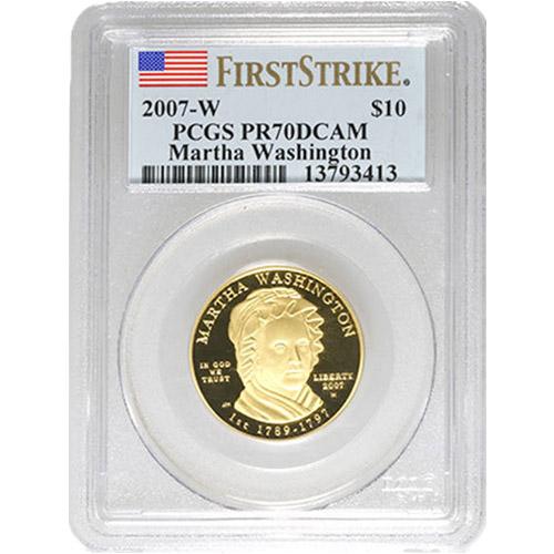 2007-S George Washington Presidential Dollar NGC Certified PR70 UCAM