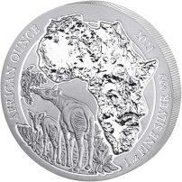 Bushbaby 2020 1 oz Silver Proof African Ounce Rwanda