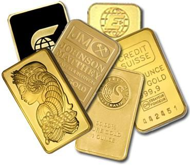 Buy 1 Oz Gold Bars Online Varied Brands L Jm Bullion