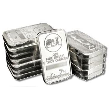 Buy 5 Oz Silver Bars Online New Any Mint Jm Bullion